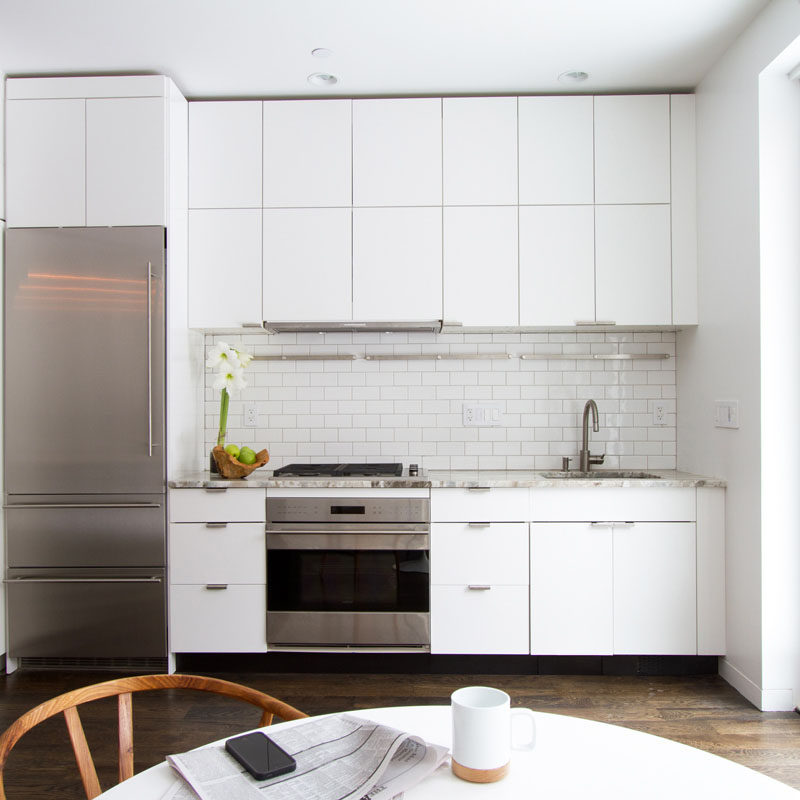 9 Backsplash Ideas For A White