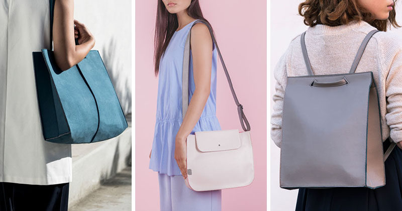 Women's Fashion Ideas - The M.R.K.T.'s Spring 2017 Collection Featuring Minimalist Handbags, Backpacks And Totes