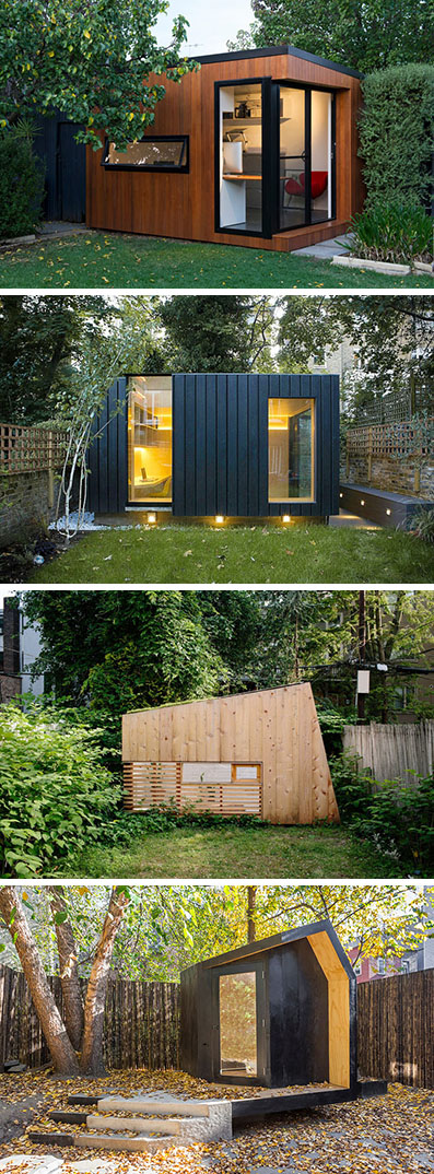Here Are 14 Examples Of Modern Backyard Home Offices Art Studios Gyms And