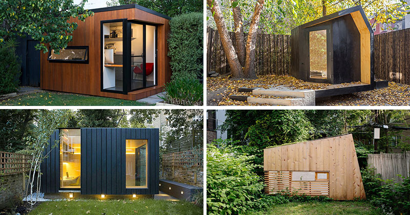 14 Inspirational Backyard Offices, Studios And Guest Houses | CONTEMPORIST