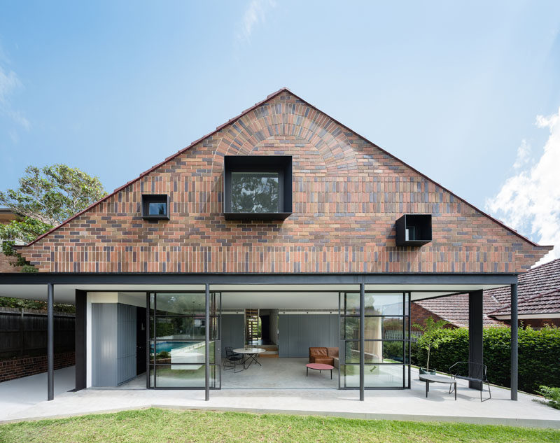 In A Suburb Sydney Australia TRIBE STUDIO Gave 1930s Original Brick Bungalow