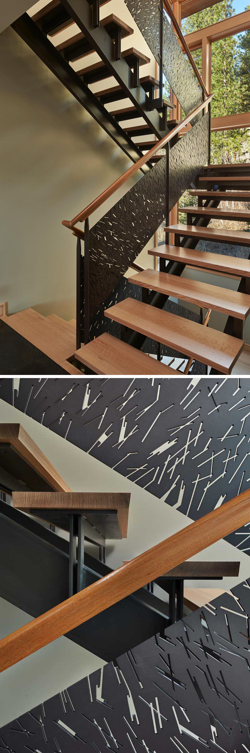 11 Creative Stair Railings That Are A Focal Point In These Modern Houses