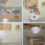 Create This DIY Interactive Cloud Lamp That Can Change Color And Respond To Music
