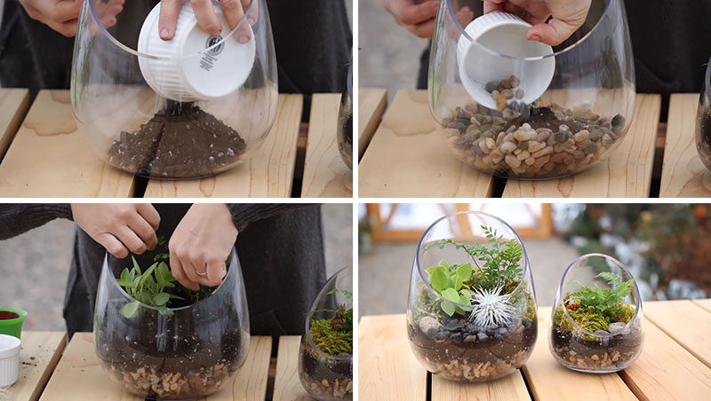 How To Make A Modern Diy Terrarium Just In Time For Spring