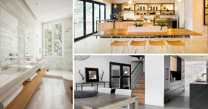 Here's a look at a few interior design, architecture and product design projects that are getting a lot of attention on our Pinterest boards this week.