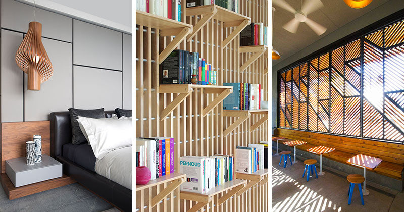 Here's a look at a few interior design and architecture projects that are getting a lot of attention on our Pinterest boards this week.