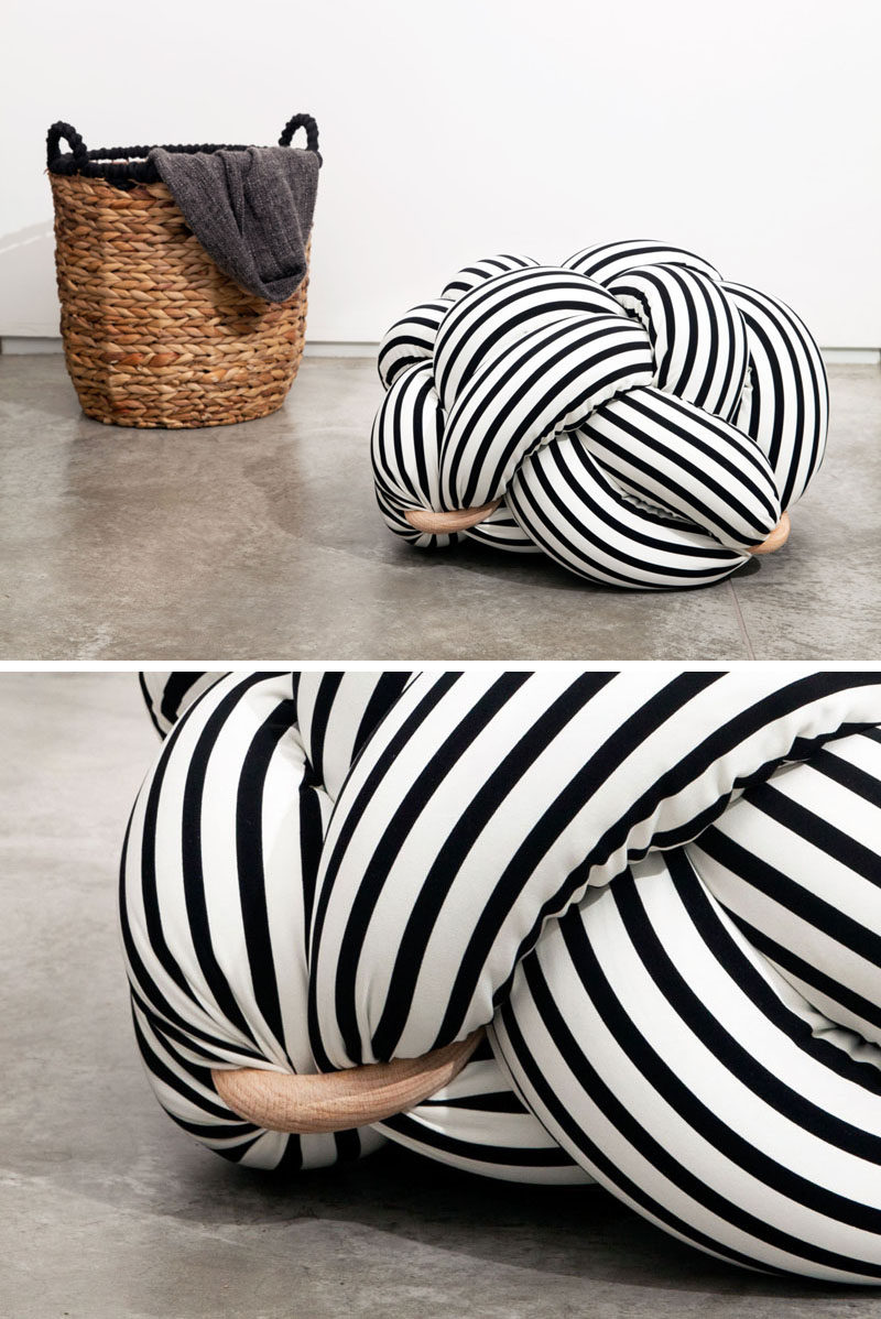 The Design Of These Oversized Cushions Was Inspired By