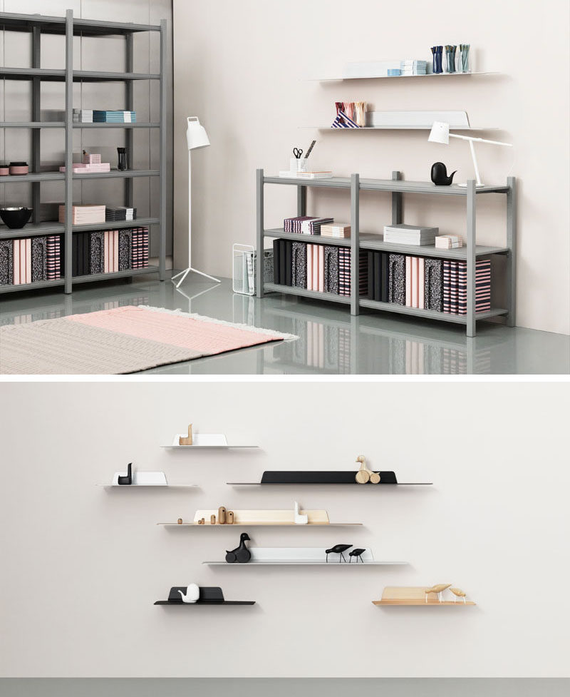 Jet Is A Thin Modern Minimalist Shelf CONTEMPORIST