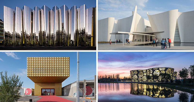 Here are 13 modern museums with architecture so amazing you'll be drawn to them just to take in their design, regardless of what's on display inside them.