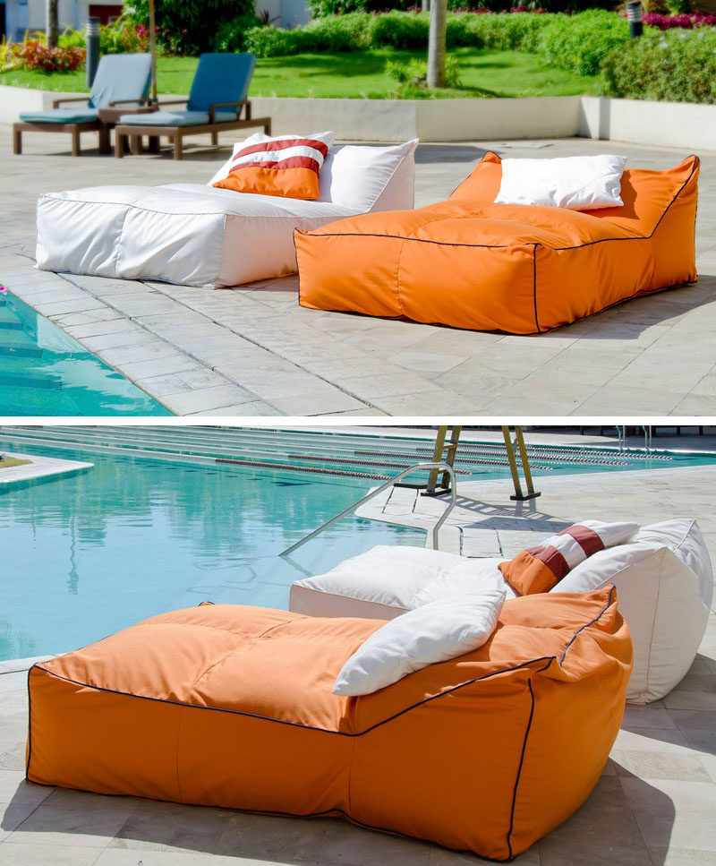 12 outdoor daybeds to get you dreaming of warmer weather for Outdoor pool bed