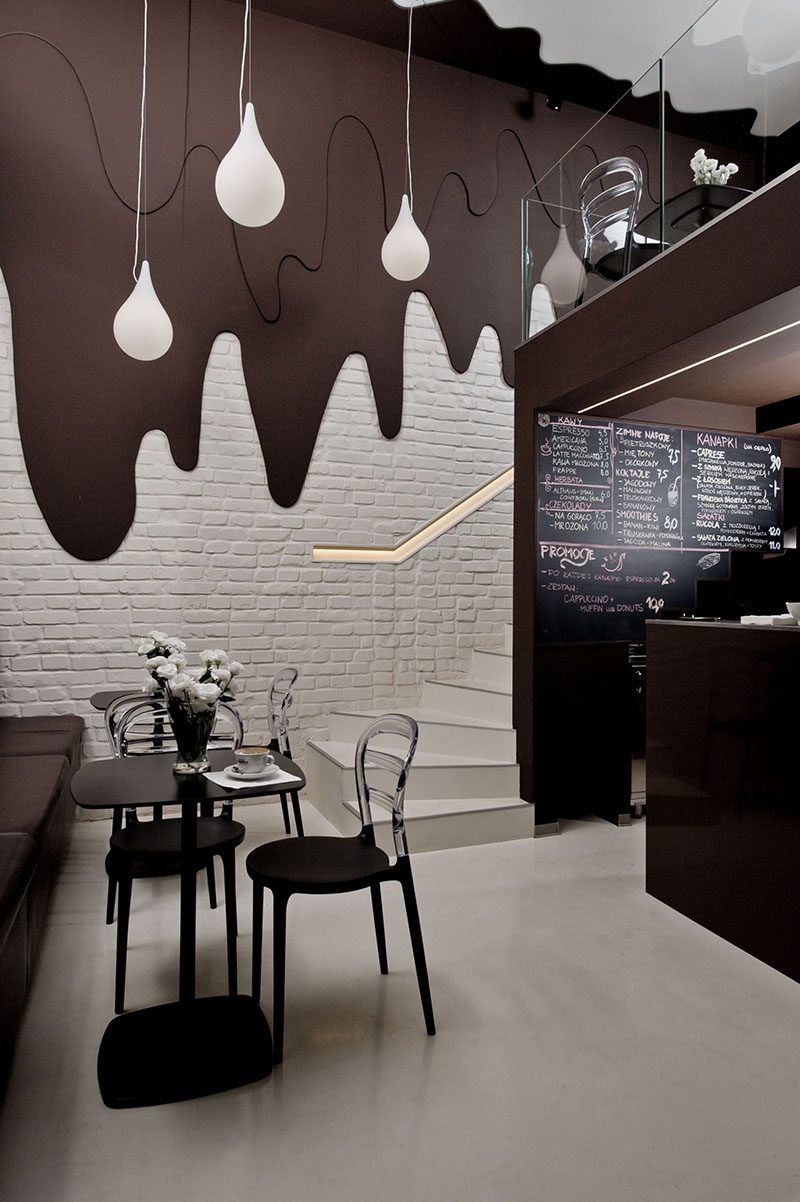 This Chocolate Shop And Cafe Has Walls Of Dripping Chocolate ...