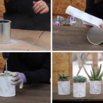 Easy Modern DIY Paint Can Planter Or Vase
