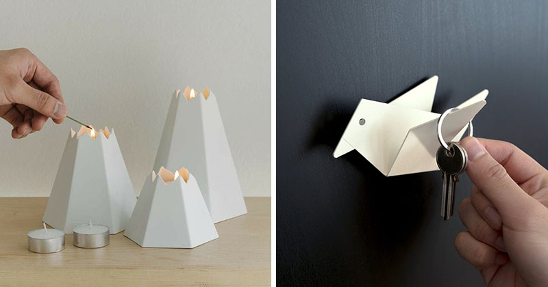 Origami Inspired The Design Of These Small Home Decor