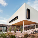 This House Overlooks A Desert Landscape From A Hillside In Texas