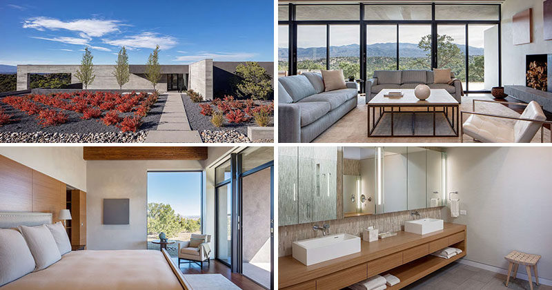 Specht Architects Have Recently Completed This Modern Home In Santa Fe, New  Mexico, Thatu0027s