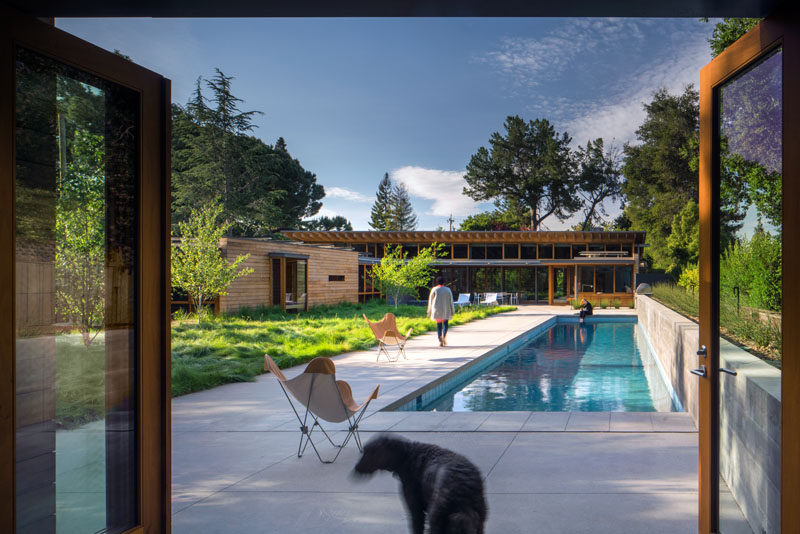 This Contemporary California Ranch Style House Was Designed For A Family In Silicon Valley