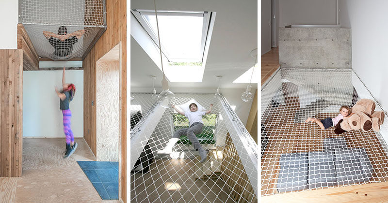 These 10 Homes And Offices Have Suspended Nets To Hang Out In