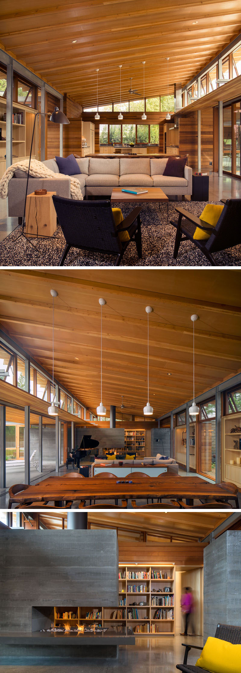 This Contemporary California Ranch Style House Was Designed