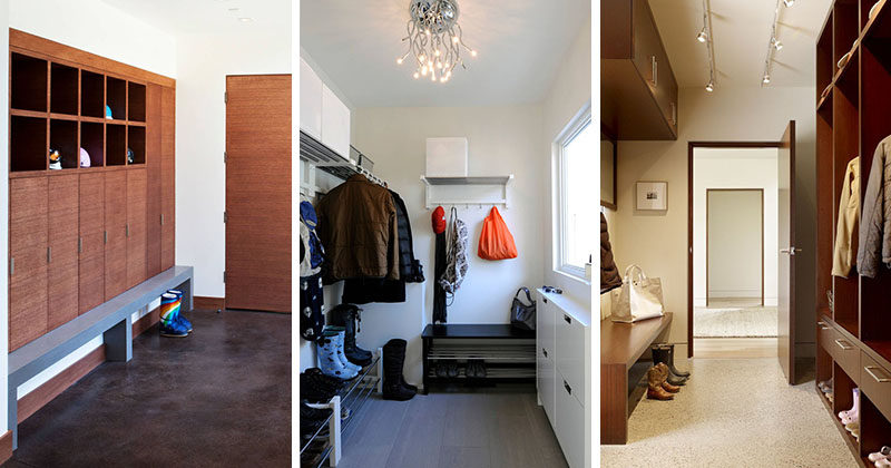 8 Modern Mudrooms To Inspire You To Keep Your Home Clean | CONTEMPORIST