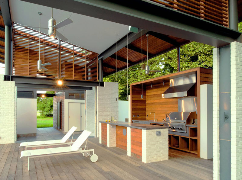 7 Outdoor Kitchen Design Ideas For Awesome Backyard ... on Backyard Exterior Design id=47864