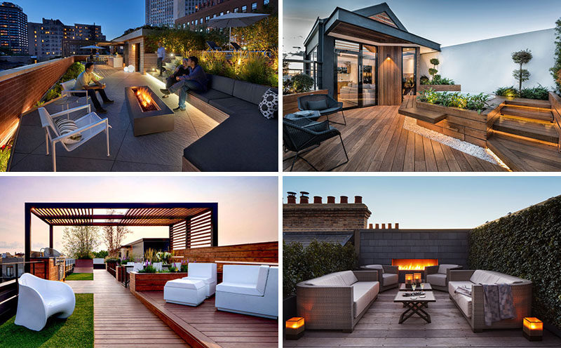 To Inspire Your Own Modern Rooftop Deck Transformation Here Are 10 Examples Of Es