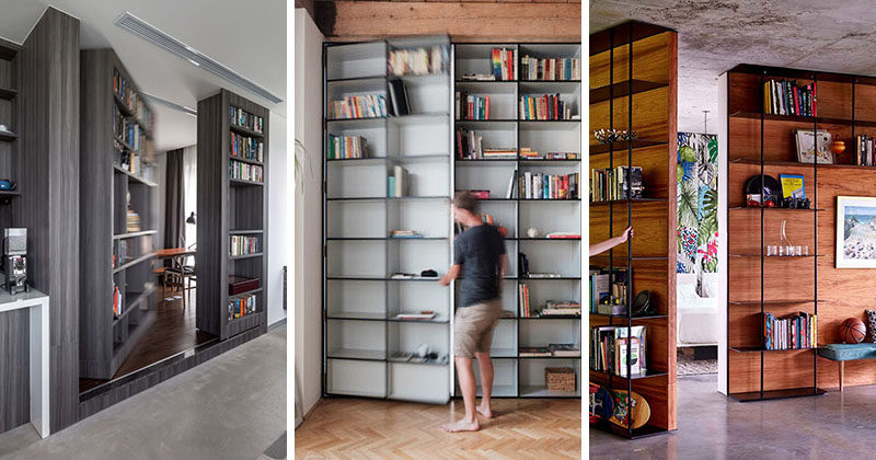 Here are 13 ex&les of modern secret doors that lead to hidden rooms in homes & These 13 Secret Doors Are Hidden In Plain Sight | CONTEMPORIST pezcame.com