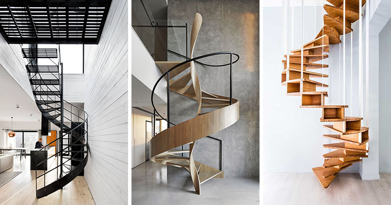 Best 25 Modern Staircase Ideas On Pinterest: 16 Modern Spiral Staircases Found In Homes Around The