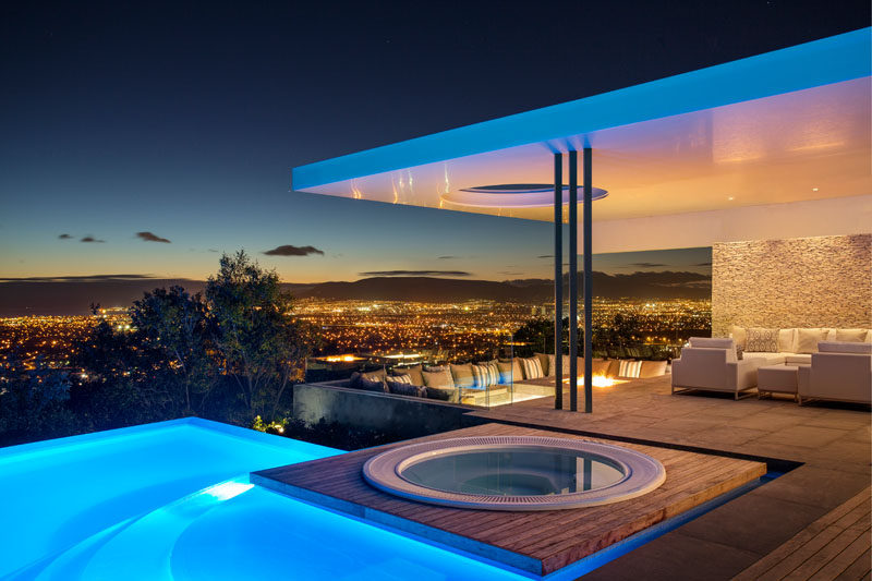This Modern South African House Has Stunning City Views And A Swimming Pool  And Spa As