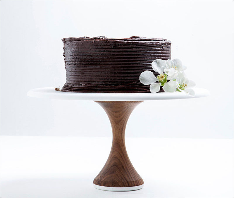 These Simple Modern Wood Cake Stands Are Ideal For A Wedding Display Or