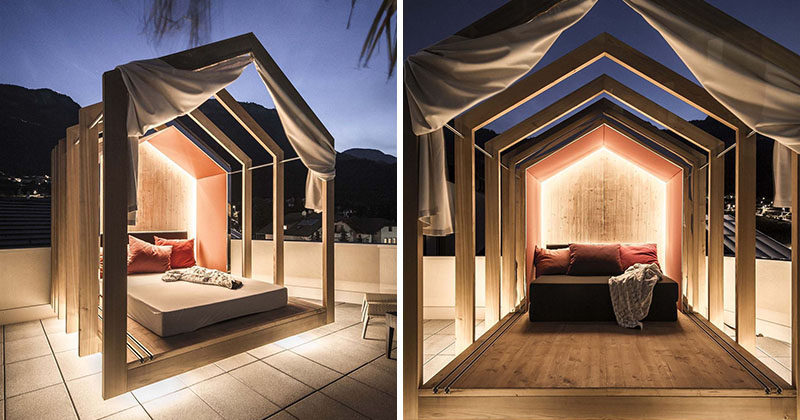 The Rooftop Bedroom At This Hotel Lets You Lie In Comfort When Stargazing