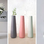 Minimalist Vases And Candle Holders Are A Simple Addition For Springtime Home Decor