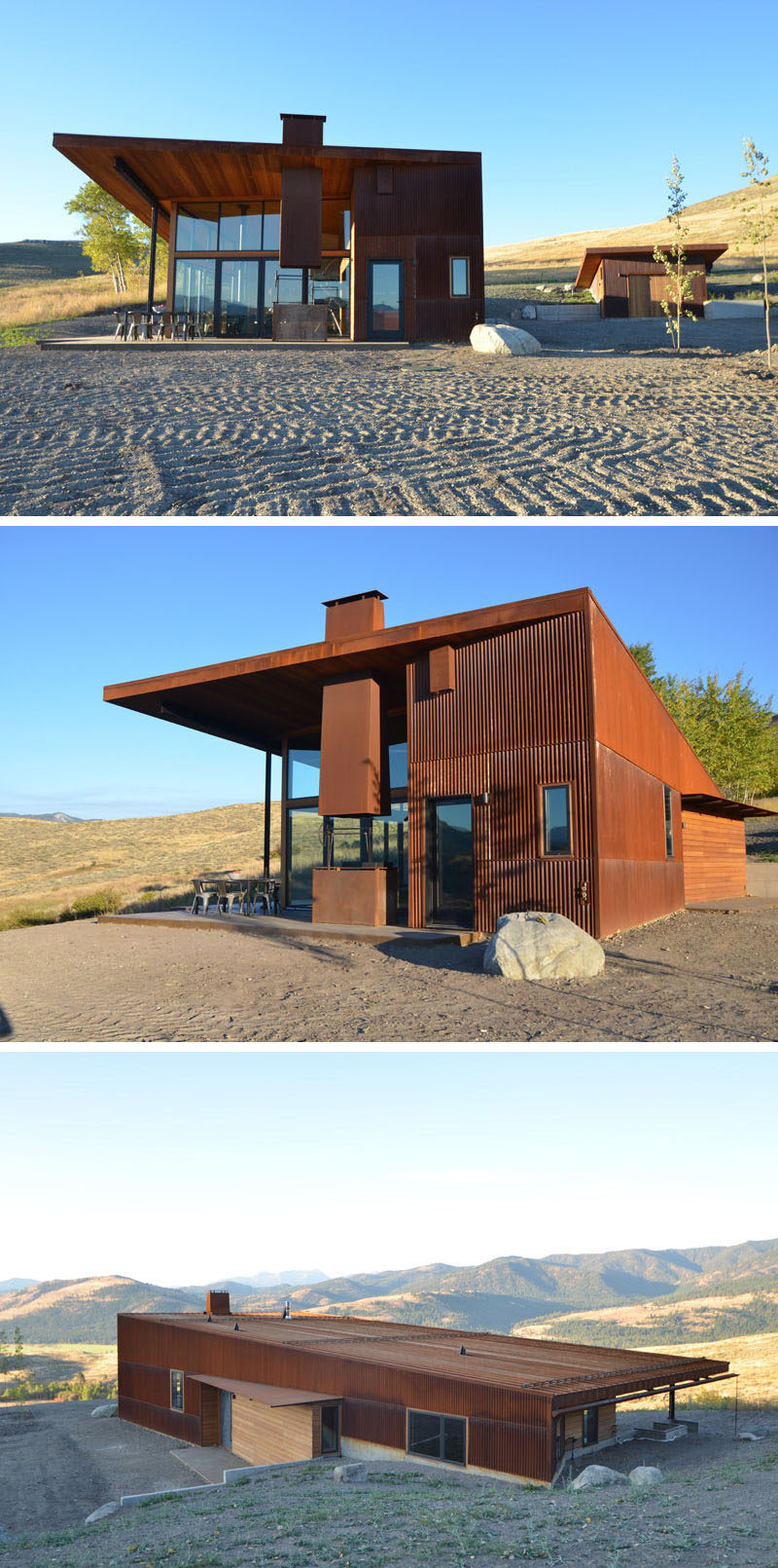 13 Modern Houses That Have Weathering Steel Exteriors ...