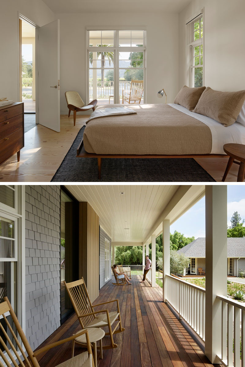BEFORE and AFTER   Wine Country Farmhouse by Bohlin Cywinski Jackson. contemporary guest bedroom 180417 1226 12   CONTEMPORIST