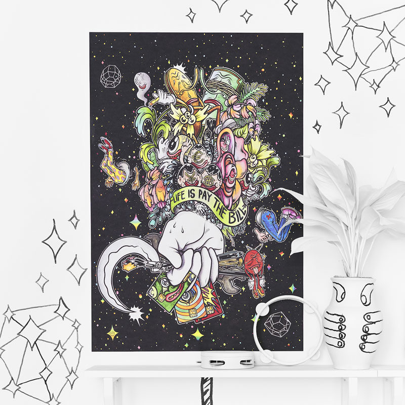 IKEA has launched their 2017 Art Event, a collection of 12 limited edition art posters with each poster hand drawn by one of 12 contemporary artists.