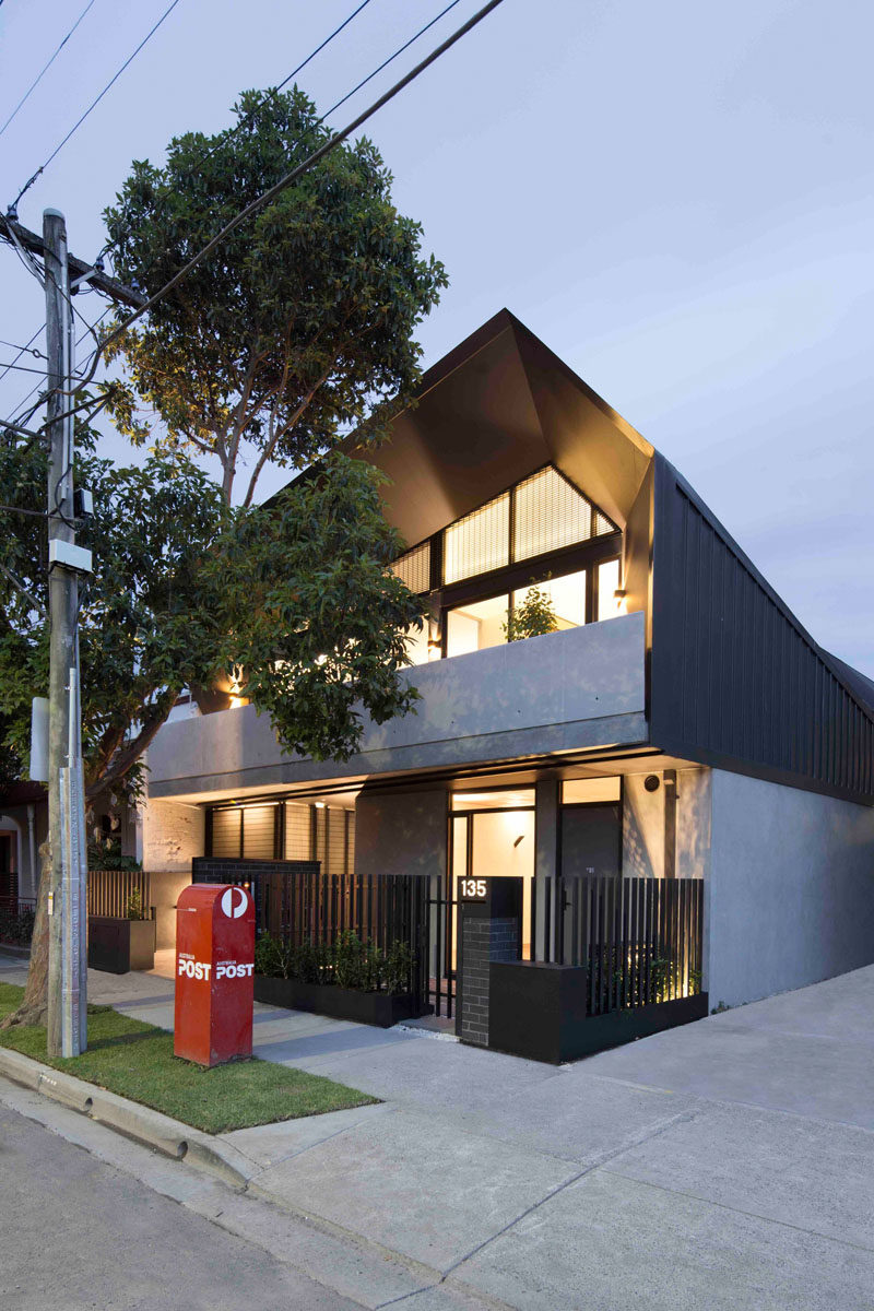 Architecture firm MUSK Studio have recently completed the Coppin Street Apartments in Melbourne, Australia, that's home to six modern apartments.