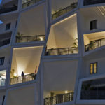 This Building Was Designed With A Jumble Of Uniquely Shaped Outdoor Spaces For Each Apartment