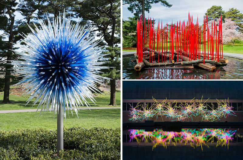 Contemporist Dale Chihuly 39 S Glass Sculptures Takeover The New York Botanical Garden