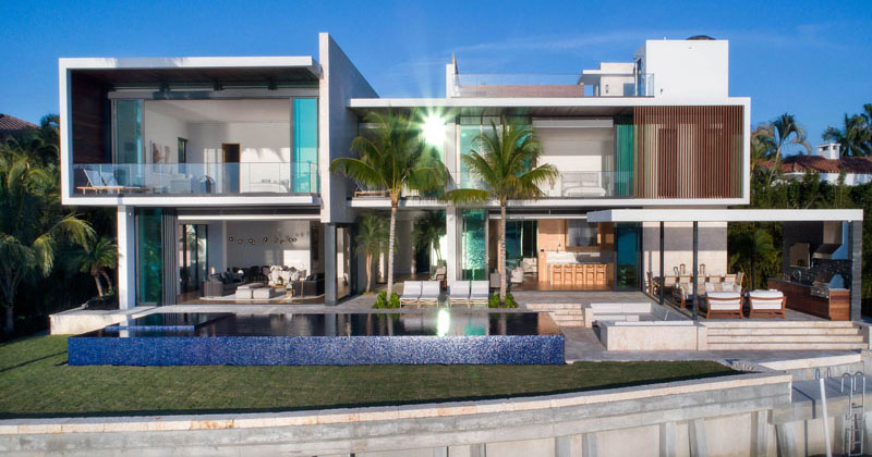 A New Modern Waterfront Home Arrives In Miami