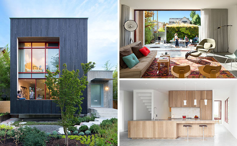 Measured Architecture Inc. Have Designed This Modern Single Family House In  Vancouver, Canada,