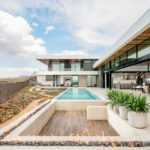SB Architects Have Designed A New House On A Hillside Overlooking Las Vegas