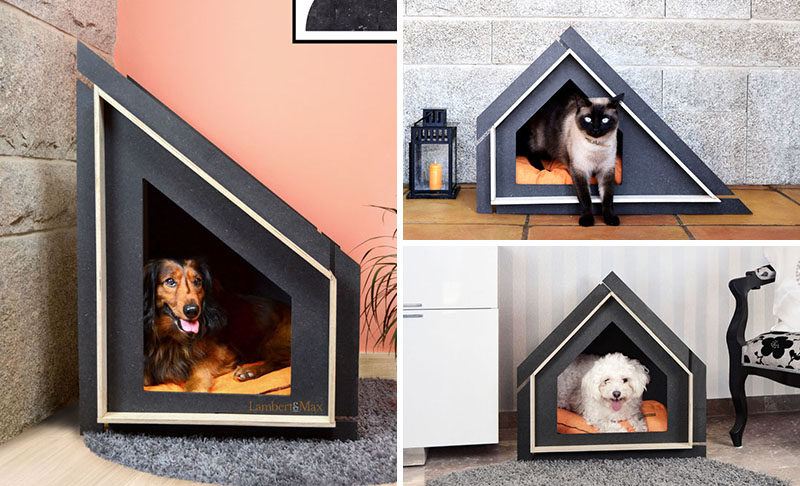 modern dog furniture. Inspired By The Lack Of Modern Pet Houses On Market, Furniture Company Lambert\u0026Max Dog