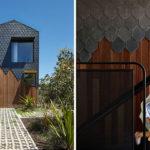 Dark Grey Slate Creatively Covers This Australian Home