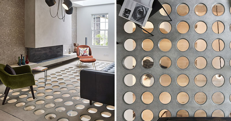 This Modern House In London Has A Unique Floor Made From Pavement Lights That Have Been