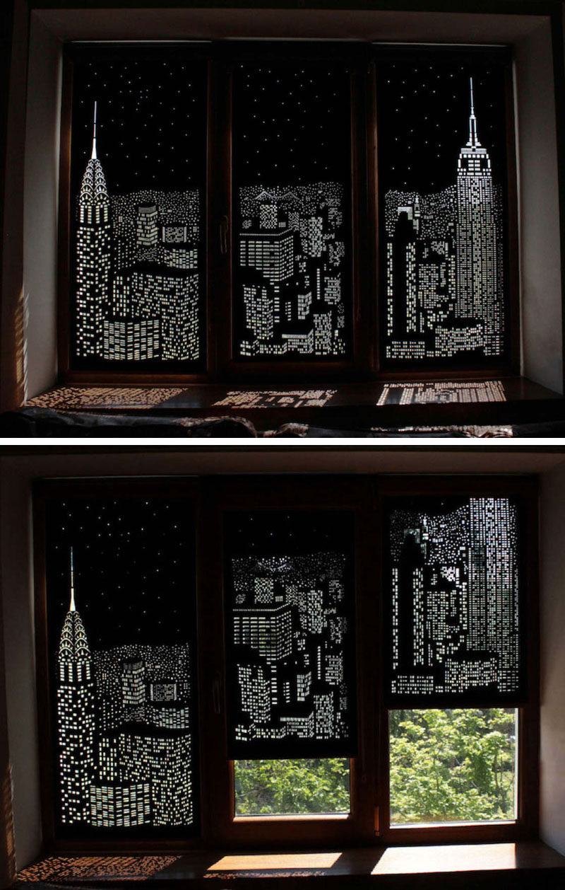 Curtains For Three Panels