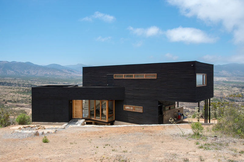 This Chilean House Looks Out To The Mountains And Beaches