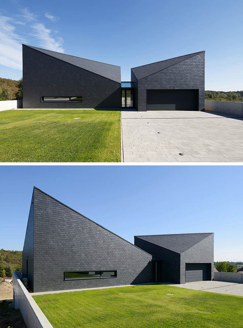 Home Exteriors: 14 Examples Of Modern Houses With Black Exteriors