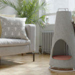 This Cone-shaped Object Is Both A Scratching Post And A Cat Bed