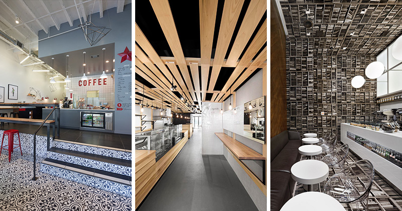 Contemporist 10 north american coffee shops that are for Modern coffee bar design