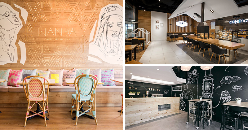 14 creatively designed european cafes that will make you crave rh contemporist com Coffee Shop Counter Design Coffee Shop Counter Design