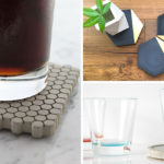 7 Sets Of Concrete Coasters That Will Protect Your Table While Looking Stylish